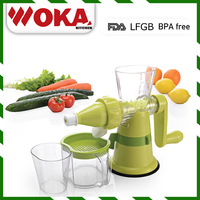Manual Juice Extractor Stainless Steel Safe Use fruit Juicer machine