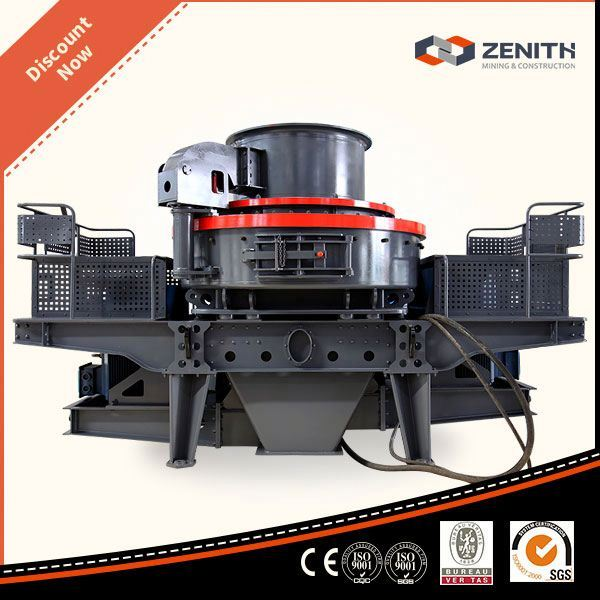 CE ISO Approved vsi series crusher with low price