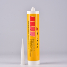EMPTY RTV silicone sealant tube cartridge for window door caulking and sealing