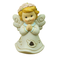 angel figurines with light religion pray girl status