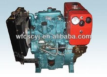 two cylinder diesel engine for generator set genset diesel engine15KW2100D