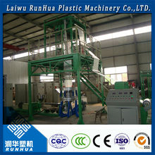 easy operate large shrink wrap bags film blow moulding plastic machine