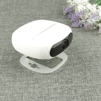 Indoor wireless smart p2p ir cut h.264 wireless rotating security camera e-ptz with 3x zoom app control