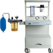 Anestesia Machine with O2 & N2O Source and Manual mode (JINLING-2B)