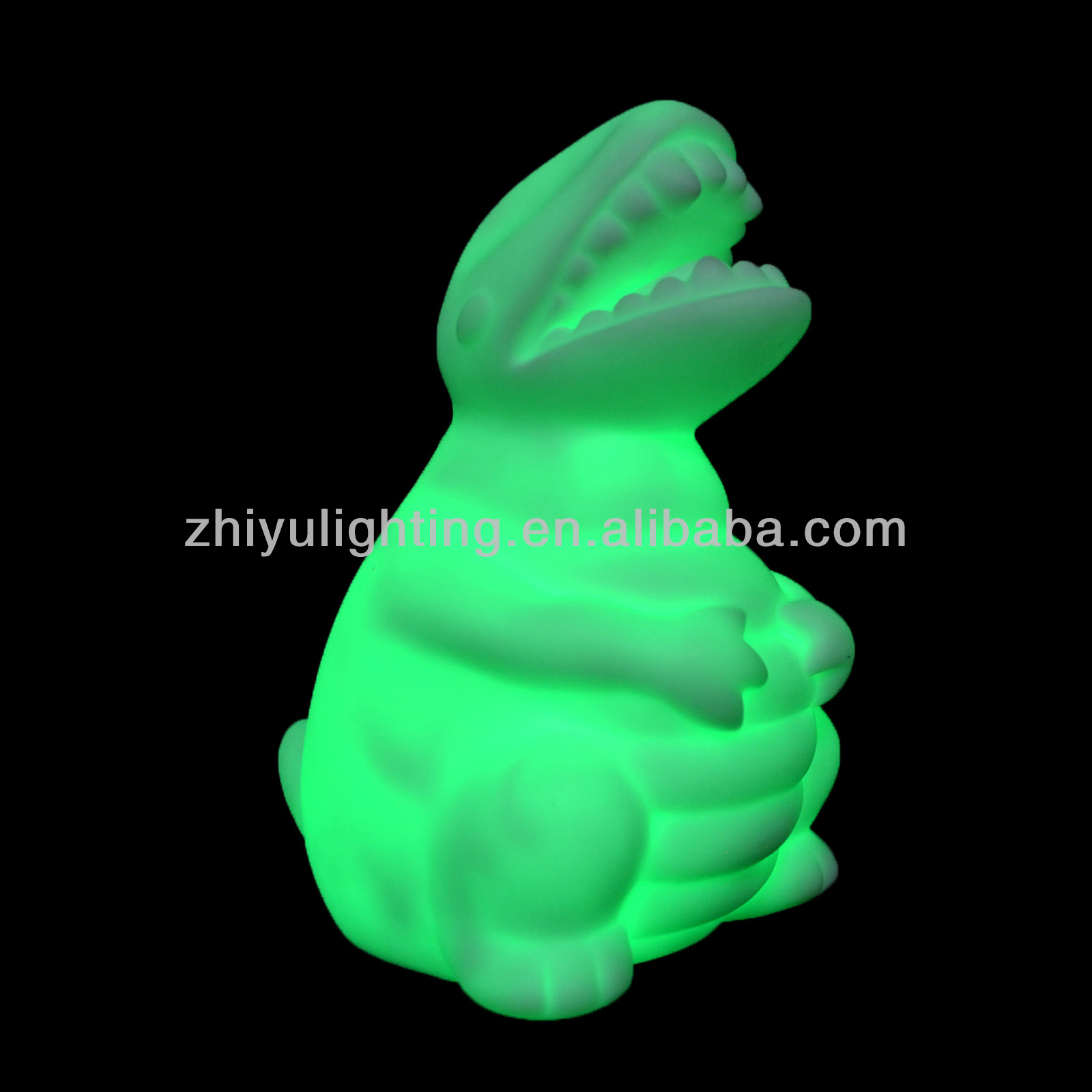Battery operated mini led night light for dianosaurs led lamp