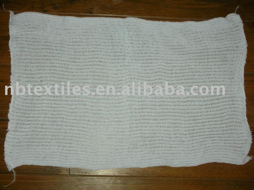 cotton knitting floor cleaning cloth