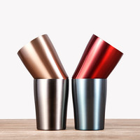 Factory Direct Customized Double Wall 304 stainless steel Drinking cup/keep warmer cup & stainless steel tumbler