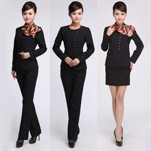 Uniforms for receptionist/airline pilot/hotel
