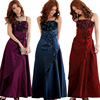 W11346G French bride toast clothing skirt banquet dress elegant harness dress large size women