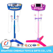 Good quality electronic plastic microphone for kids