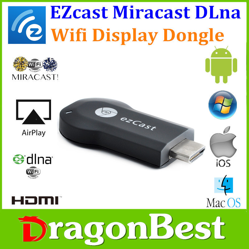 New arrival smart phone/TV/ tablet Ezcast M2 wirless WIFI display USB dongle with 1080p