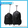 New trendy students black travel luggage sets with trunk trolley case suitcase
