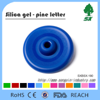 Silicone BPA Free Flying Disc Pet Dog Toy Dog Training Toy