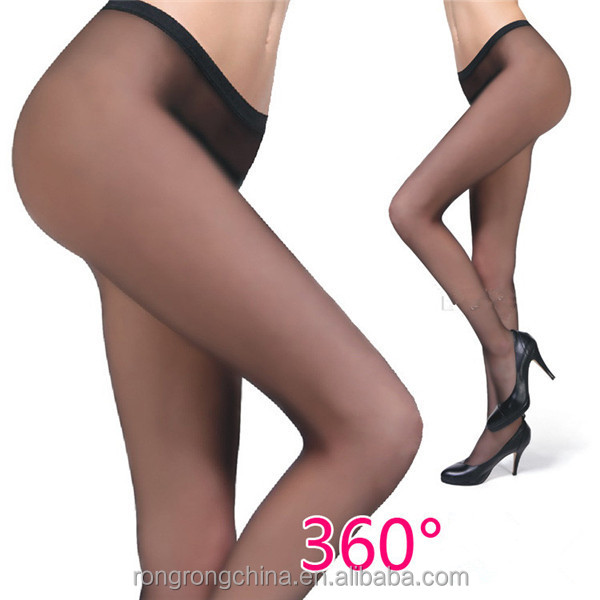 wholesale transparent shiny fashion tights seamless pantyhose