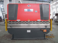 WF67Y 300t/ 4000 Electrical Control Back Gauge Metal Sheet Hydraulic Plate Bending Machine
