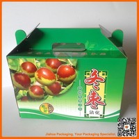 fruit recycled materials packaging box