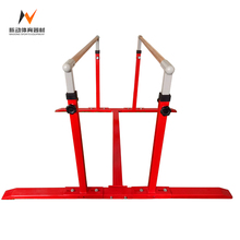 High quality cheap wooden outdoor fitness gymnastics parallel bars