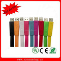 Flat Slim Design Micro USB data/Sync Cable USB A Male to Micro B