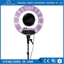 "Photography 18"" Outer 14"" Inner studio flash fluorescent ring light 300W for video shooting"