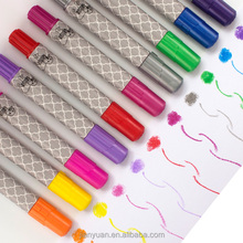 2018 Hot Selling Washable hair color stick 10 colors cover grey hair coloring stick