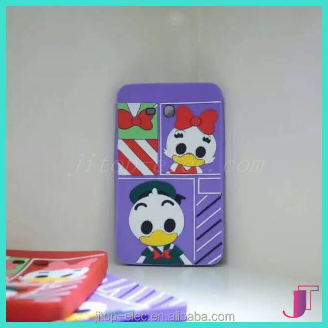 Cute Mobile Phone Silicon Case,Animal Silicone Phone Case for ipad
