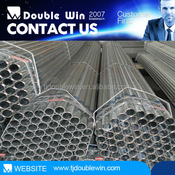 gi pipes /ms pipe /galvanized iron pipe price for agriculture project