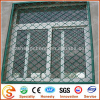 specialized production aluminum mesh /beautiful grid mesh for window, gardens, residential for protection