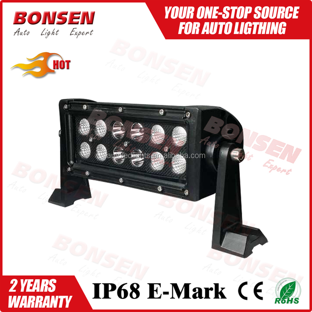 New arrival waterproof dual row black face led driving light offroad LED Light bar for trucks jeep wrangler jk 4wd
