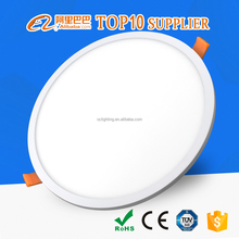 high bright aluminum round slim 18w guzhen lighting