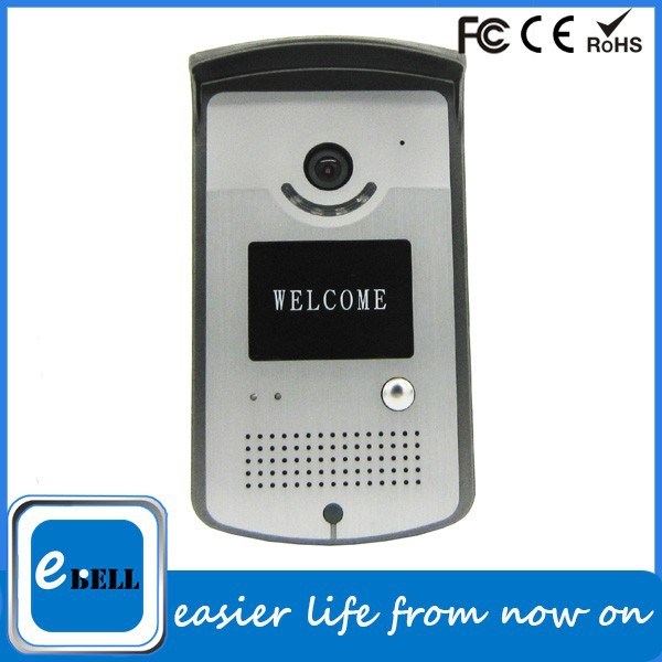 Wifi Android&iOS Remote Video Talk Digital Door Peephole Viewer,Wireless Intercom Doorbell Waterproof,Peephole Door Eye