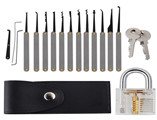 New Goso 15 pieces locksmith tool for car lock picking tools set