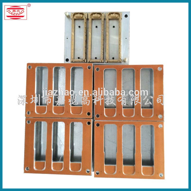 Baby feeding-bottle two pvc blister sealing mould for package