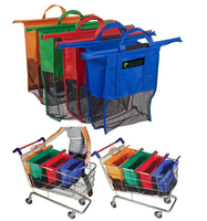 promotion with high quality grocery trolley bag
