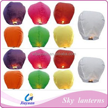 Wholesale flying chinese no flame sky lanterns