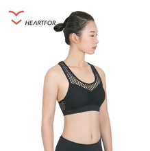Yoga One Shoulder Sports Bra Girl Sexy Running Wholesale Bush Up Bra