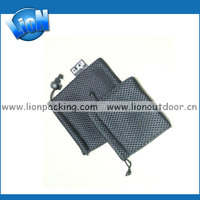 mini mesh drawstring pouch for wireless mouse