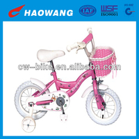China Manufacturer Beautiful 12 Inch Pink Color Baby Girl Bikes For 3 Years Old