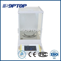 internal calibration touch screen electronic analytical balance scale