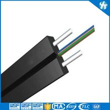 FTTH 4 core bow-type fiber optic cable,fiber optic cable camera