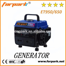 Forpark ET950 /650 portable gasoline powered generator 950