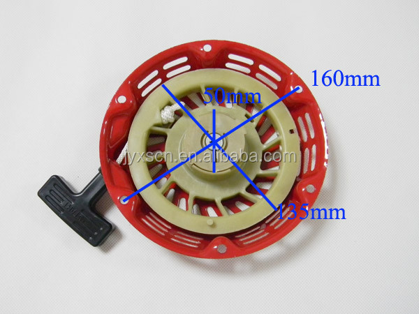 Recoil Starter Assy/Assembly For HONDA Generator GX120 GX160 GX200 5.5HP 6.5HP (Old Type) Spare parts