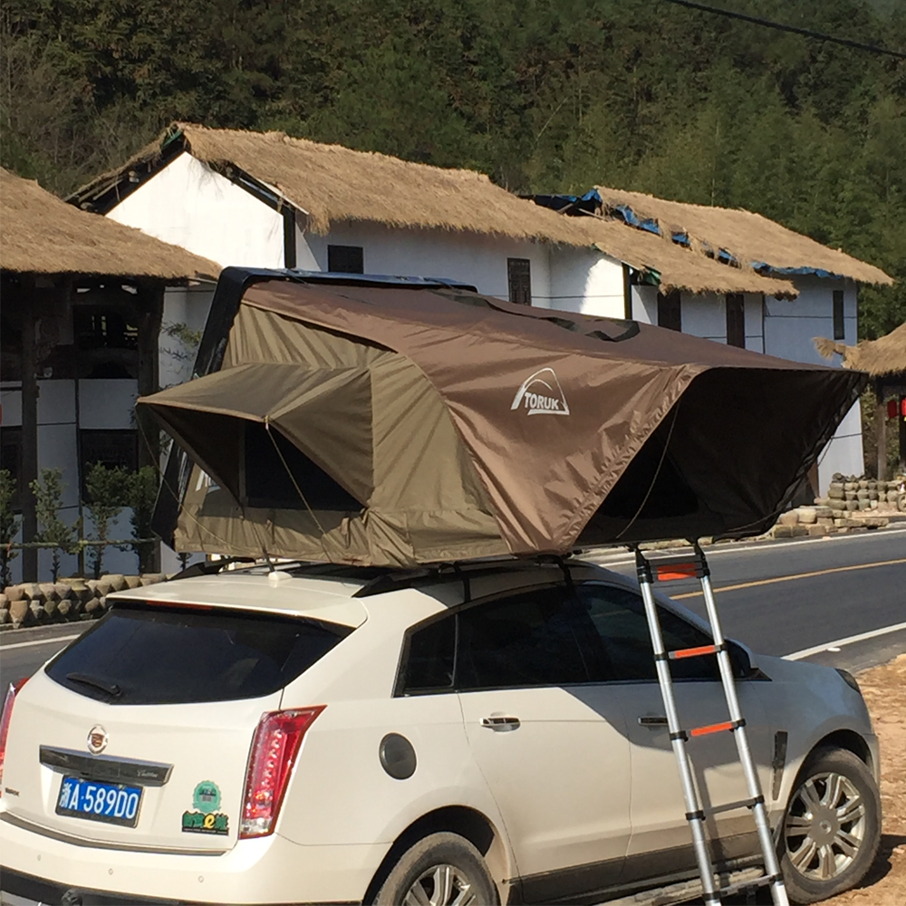 4x4 Outdoor Canvas Hard Shell Roof Top <strong>Tent</strong>