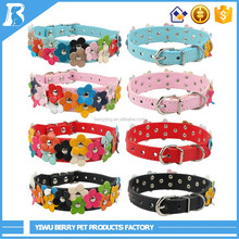Hot China Products Wholesale Flower free sample pet collar