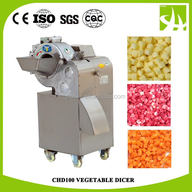 CHD100II Factory supply Fruit and vegetable slicing,strip cutting and dicing machine