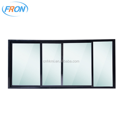 high quality refrigerator double pane glass sliding door