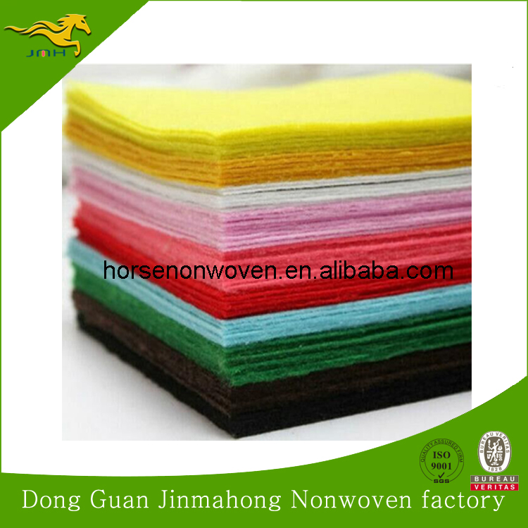 make to order color needle punched nonwoven polyester felt