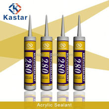 paintable acrylic sealant,waterproofed,white color