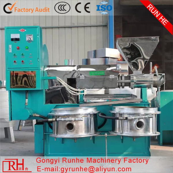 Runhe Manufacture ISO CE organic vegetable oil press machine