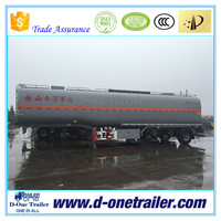 2016 BEST SELLING 3 or 4 axles optional capacity oil / chemical silo trailer for tractor