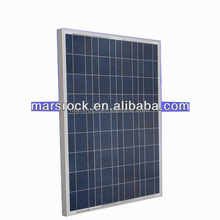 130W 18V Poly Solar Panel Module with CE,MCS,IEC,TUV,ISO,UL,RoHS Approval Standard